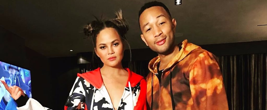 Chrissy Teigen and John Legend KFC Pajamas