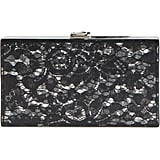 Nordstrom Transparent Lace Box Clutch