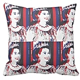 Young Queen Elizabeth Pillow ($32)