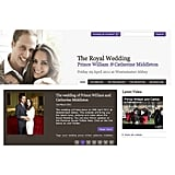 A Wedding Website