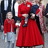 The Royal Family Attends Prince Gabriel's Christening