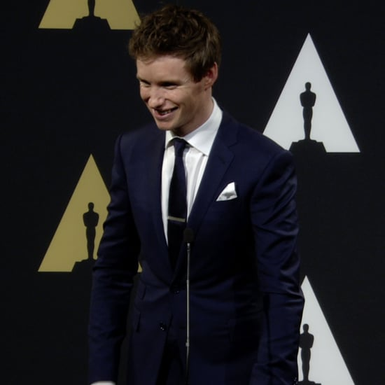 Eddie Redmayne Oscar Nominees Luncheon Interview