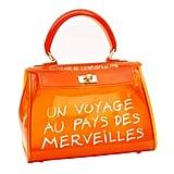 Amazon Clear Bag Jelly Color Transparent Handbag PVC Purse