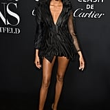 Cindy Bruna at the Harper's Bazaar ICONS Party