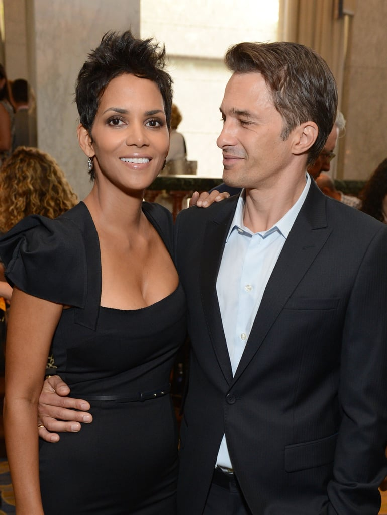 Olivier Martinez gave Halle Berry a look of love in October 2012 at the Power of Women event in Beverly Hills.