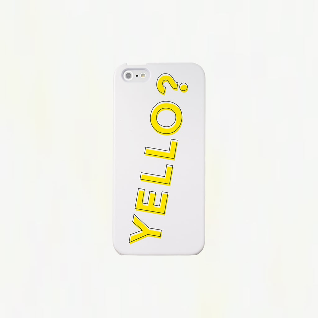 Hello? Is this Yello  ($25) calling? Your iPhone 5 is Saturday-ready.