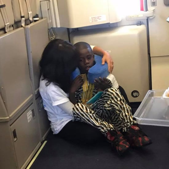 Woman Soothed Boy With Autism on Flight