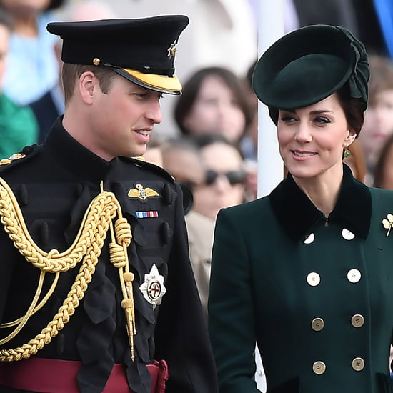 Prince William and Kate Middleton on St. Patrick's Day 2017