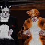James Corden and Rebel Wilson Dressed as Cats at Oscars 2020