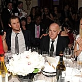 Elsa Pataky and Chris Hemsworth sat at Gwyneth Paltrow's table.