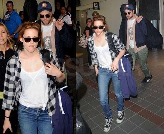 Pictures of Robert Pattinson and Kristen Stewart