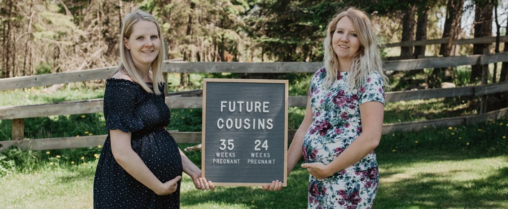 Photos of Sisters Pregnant at the Same Time