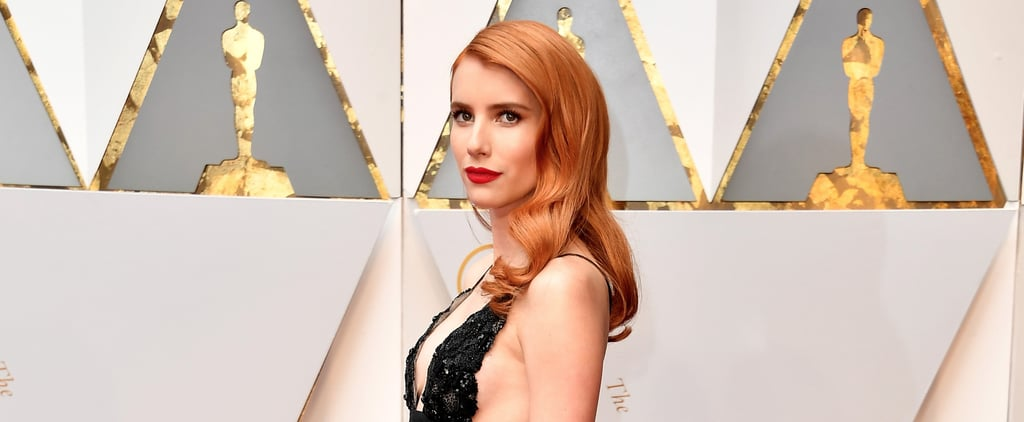 Emma Roberts Had the Cutest Reaction to Matching With This Star on the Red Carpet