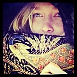 Lara Bingle showed off a new vintage purchase. Source: Instagram user mslarabingle
