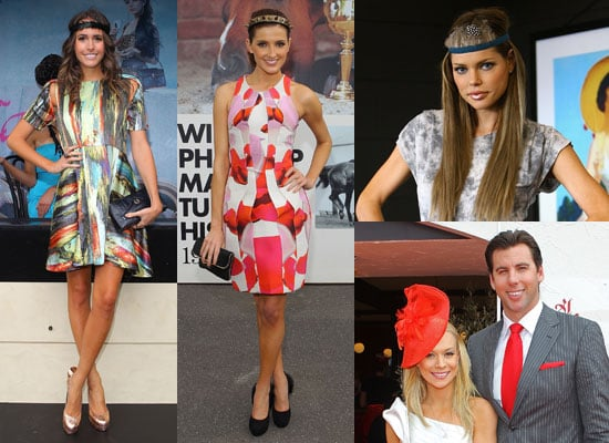 Celebrities Attend 2010 Melbourne Cup