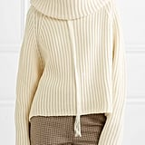 Joseph Oversized Ribbed Wool Turtleneck Sweater