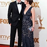 John Krasinski and Emily Blunt at the 2011 Emmy Awards