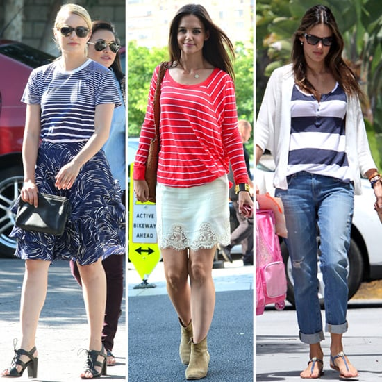 How to Wear Stripes in the Summer (Celebrity Pictures)