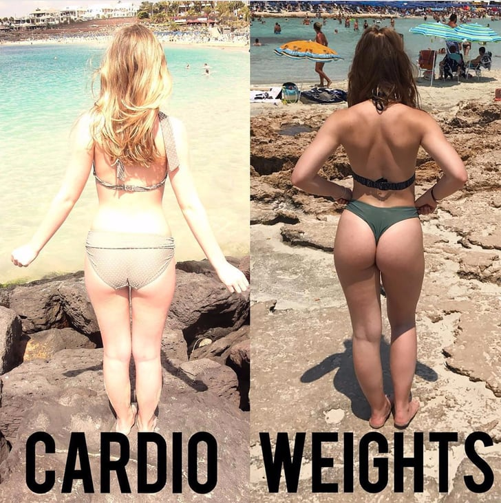 Free Weights Vs Barbell: Cardio Vs. Weights Booty Transformation