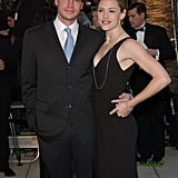 2002: Jennifer skipped the ceremony, but attended the Vanity Fair afterparty with then-husband Scott Foley.
