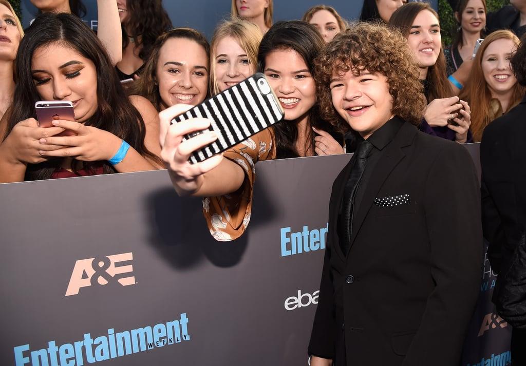 Stranger Things Cast at the 2017 Critics' Choice Awards