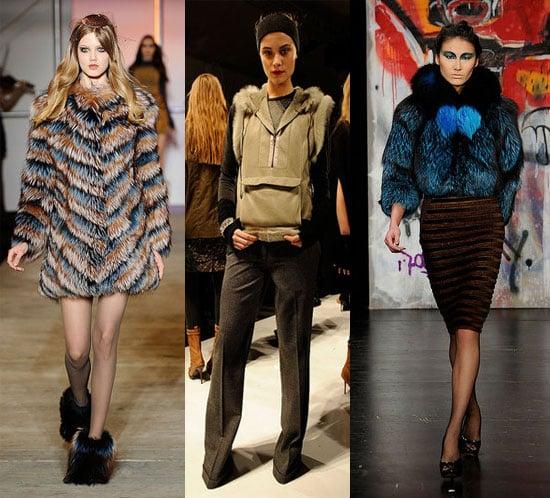 Fur Trend at New York Fashion Week Fall 2010