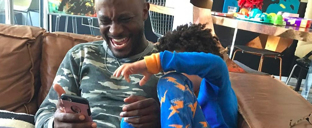 Taye Diggs With Son Walker Pictures