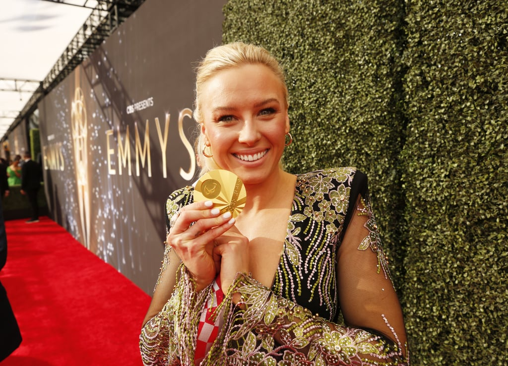 The Emmys red carpet was filled with dazzling diamonds and glamorous gowns Sunday night, but Paralympian Jessica Long had the finest piece of jewellery in sight: a gold medal from the Tokyo Games. The well-decorated American swimmer posed for pictures at the award ceremony rocking one of her many medals from the Tokyo Paralympics. During the ceremony, Jessica was also joined by Olympian Allyson Felix as they presented an award together on stage. Talk about a dynamic duo! Since competing in her first Paralympics at just 12 years old in 2004, Jessica has won an impressive 29 medals, including the six she most recently took home from Tokyo. So, of course her new shiny gold had to make a red carpet appearance! Check out the fabulous photos of Jessica at the Emmys with her gold medal ahead.      Related:                                                                                                           Someone Call Trent Crimm, the Ted Lasso Cast Looked Like Next-Level Superstars at the Emmys