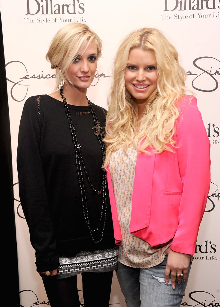 8abfe255bc6a Jessica and Ashlee Simpson Visit Florida | Pictures | POPSUGAR ...