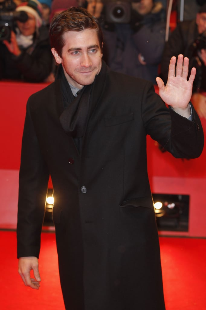 Jake Gyllenhaal, wearing a Salvatore Ferragamo suit, joined his fellow jurors last night at the opening ceremony for the 62nd annual Berlin Film Festival. Jake touched down in Germany earlier this week and got a warm reception from fans and the festival's director, Dieter Kosslick. The competition officially kicked off yesterday with the world premiere of Diane Kruger's Farewell, My Queen. There are 18 films in the running this year with each hoping to take home the Golden Bear trophy for best feature. In addition to Diane's movie, Jake will also have the opportunity to judge Angelina Jolie's In the Land of Blood and Honey, which is scheduled to premiere tomorrow night.