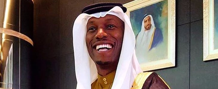Fast and Furious Star Tyrese Gibson Visits Mosque in Qatar