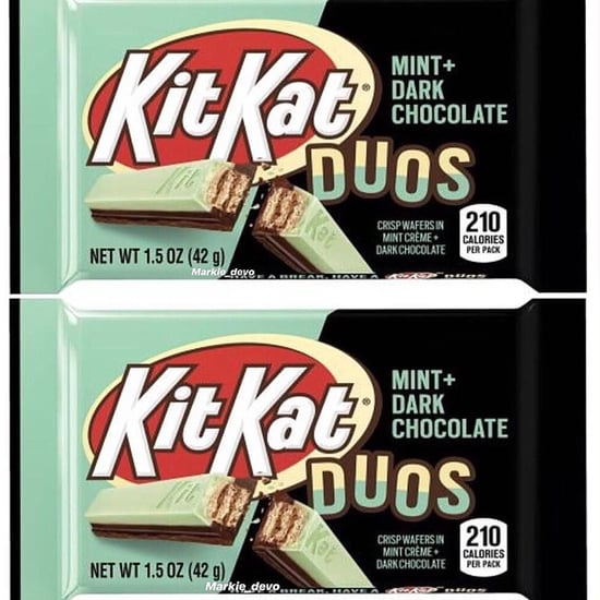 Mint Dark Chocolate KitKats