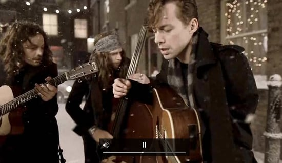 Burberry Create Charity E Card for Festive Season Starring Johnny Borrell