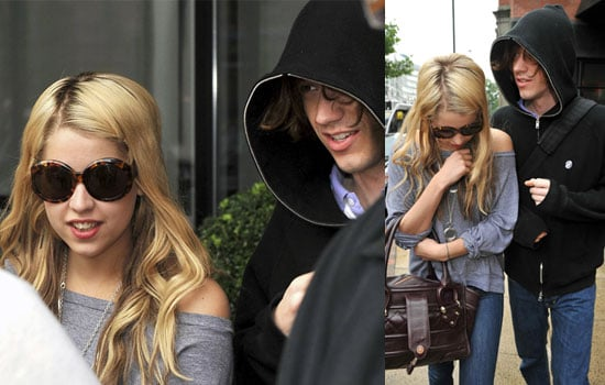 Photos Of Peaches Geldof And Max Drummey In Manchester