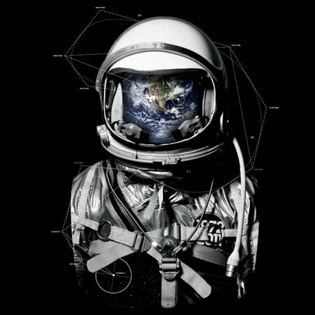 Cool Astronaut and Space T-Shirts