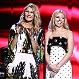 Laura Dern and Scarlett Johansson at the 2020 Spirit Awards