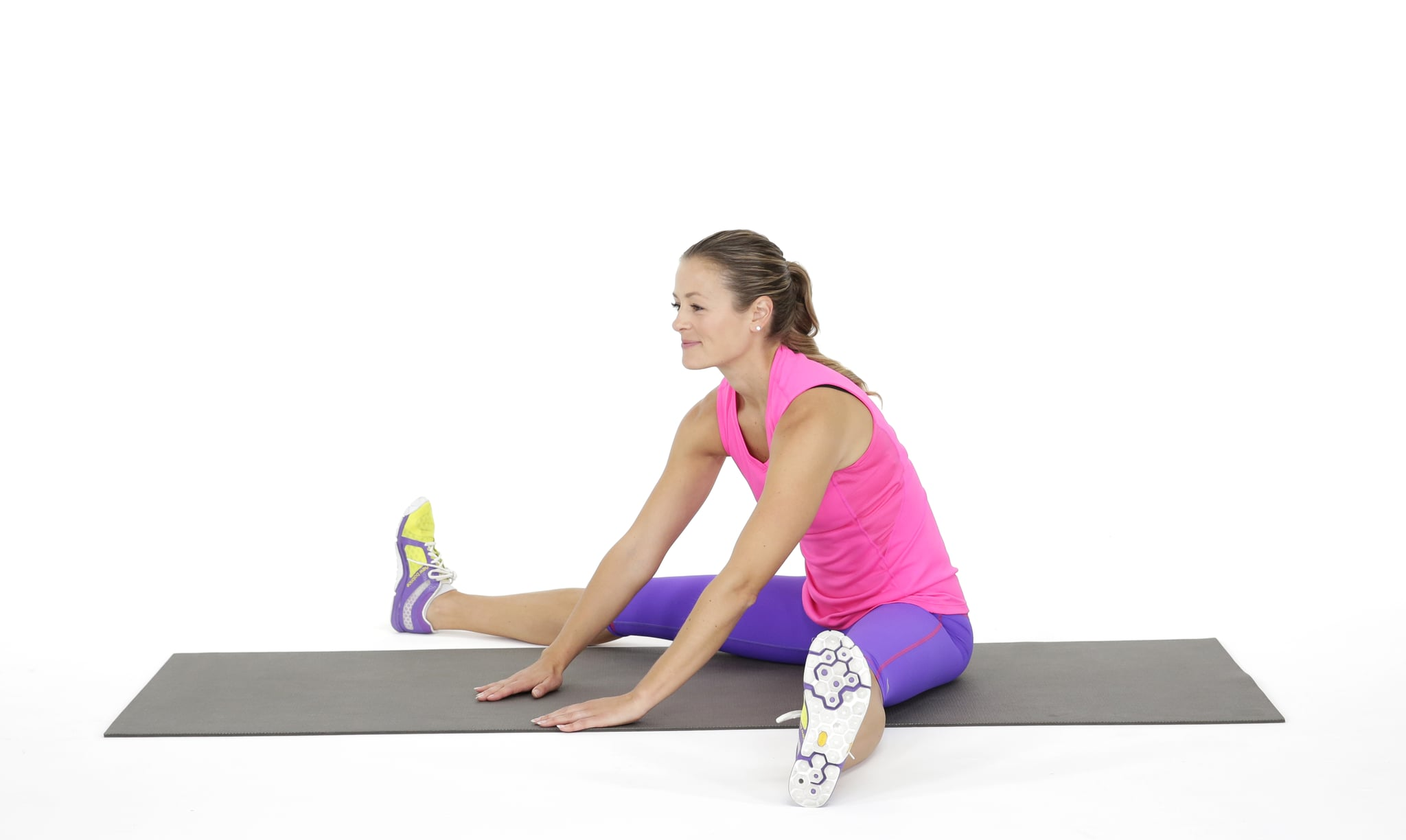 Straddle Stretch | These Are the Hip Stretches Your Body Needs Stat | POPSUGAR Fitness Photo 6