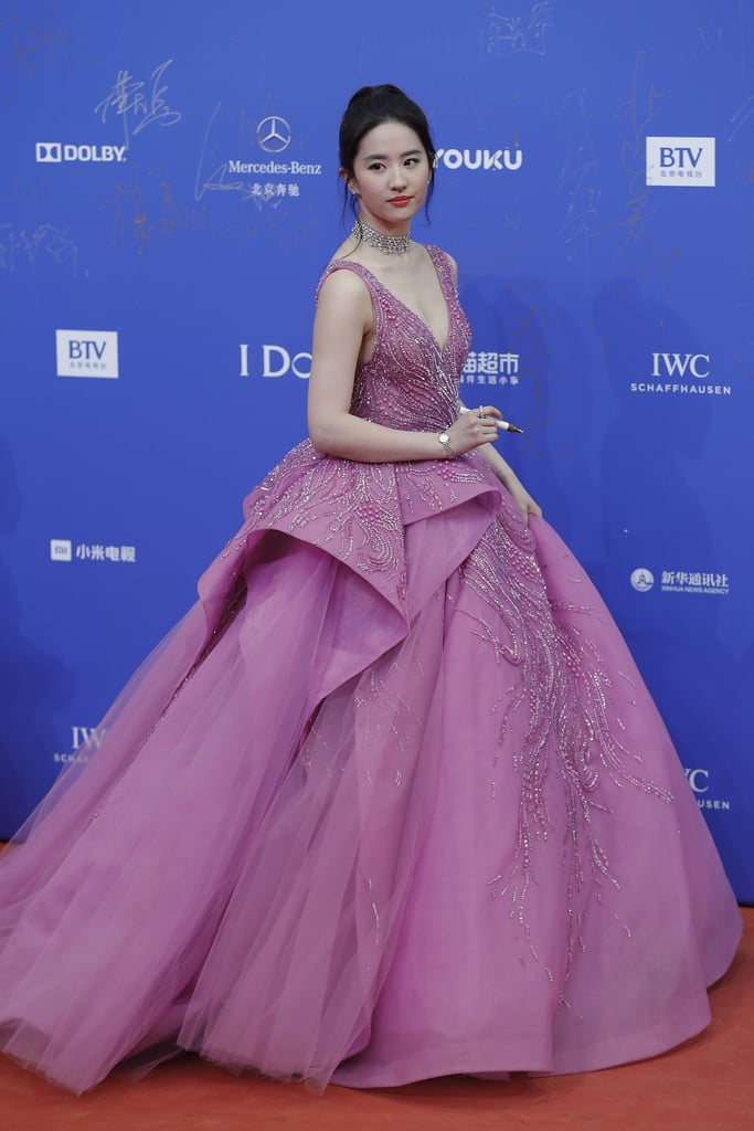 Wearing a Zuhair Murad Gown   Liu Yifei Style Pictures   POPSUGAR ...