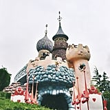 Here's the Queen of Hearts' Castle.