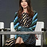 Gemma Chan at the Humans AMC Presentation