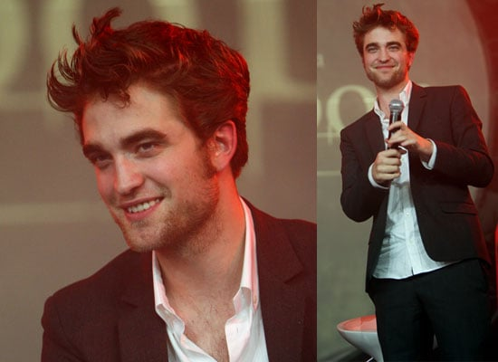 Interviews With New Moon Robert Pattinson About His Music Career, Growing Old and Harry Potter Compared to Twilight