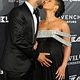 Alicia Keys and Swizz Beatz brought adorable PDA to her Keep A Child Alive organization's Black Ball in NYC on Thursday.