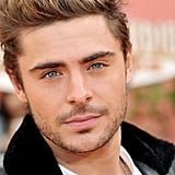 Zac Efron's blue eyes were hard to miss.