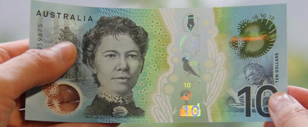 There's a New $10 Note and the Reserve Bank Says It Will Work in Vending Machines
