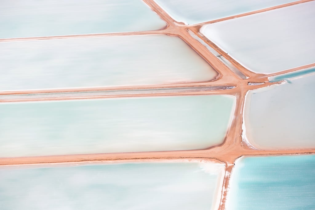 Aerial Photos of Western Australia Salt Flats For Canon