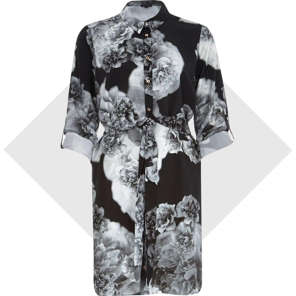 River Island Floral Shirtdress