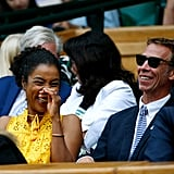 Sophie Okonedo at Day 10 of Wimbledon
