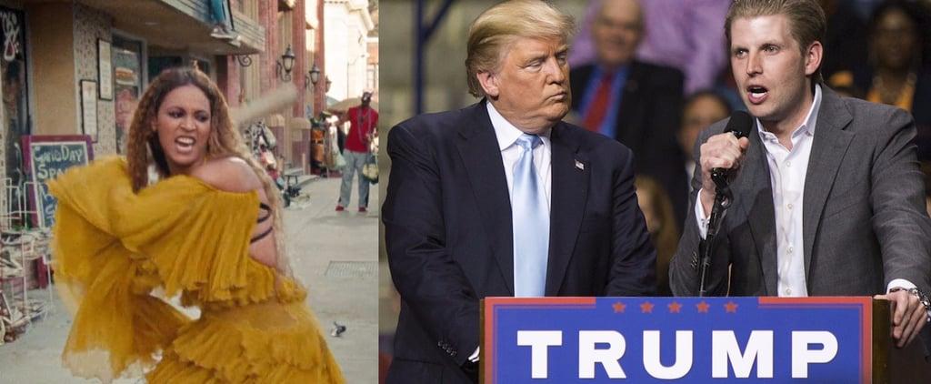 Eric Trump Steals Lemonade | Video