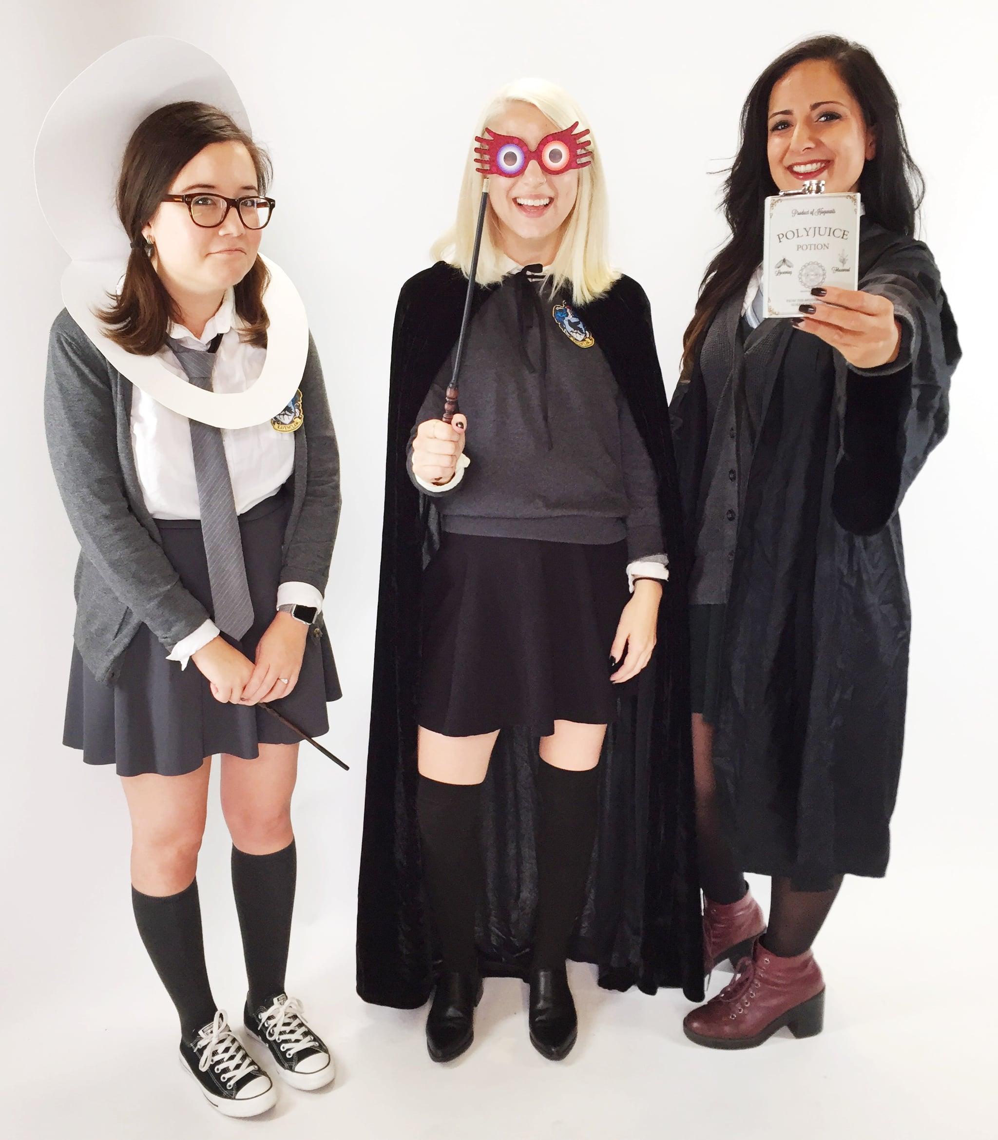 Harry Potter Group Costumes Popsugar Tech