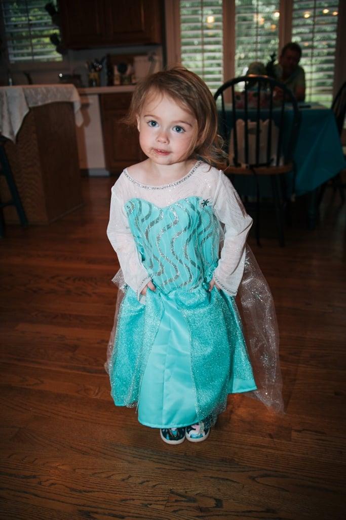Anna's daughter, Audrey, loved her third birthday celebration.